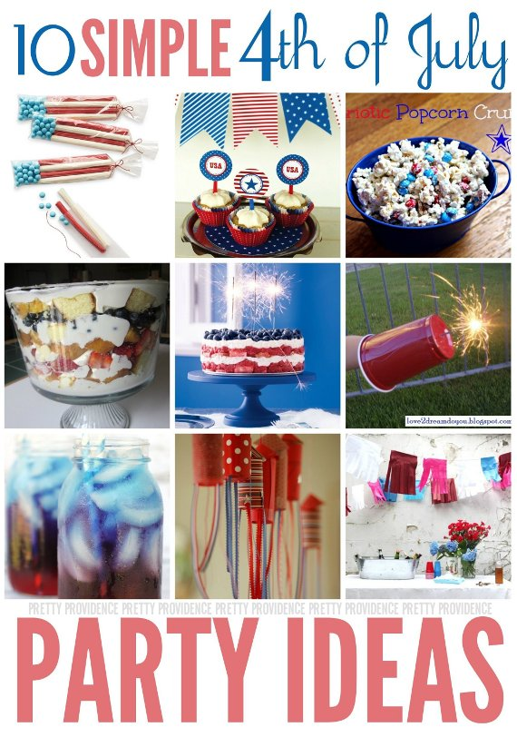 Fourth of july party ideas pretty providence for 4th of july celebration ideas