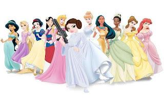 Princess with gun