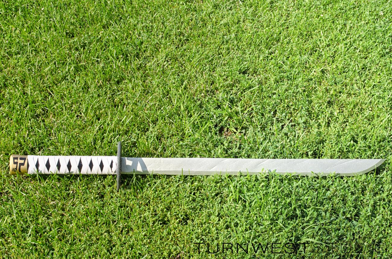 How to make scott pilgrim sword