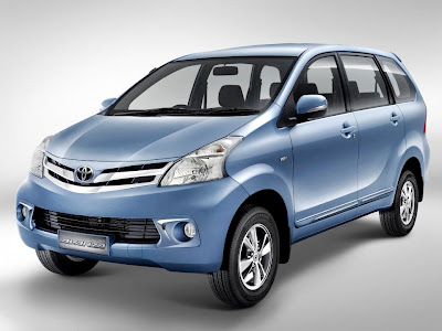 All New Avanza 2012 samping