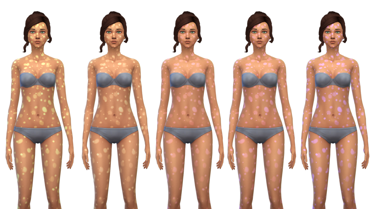 My sims 4 blog gtw illness overlays skin details by nyloa
