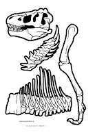 Мозайка динозавры