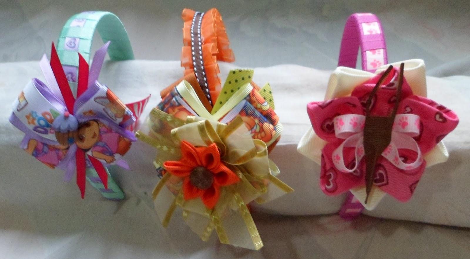 El mundo de la decoraci n para el cabello lazos y cintillos for Decoraciones para el pelo