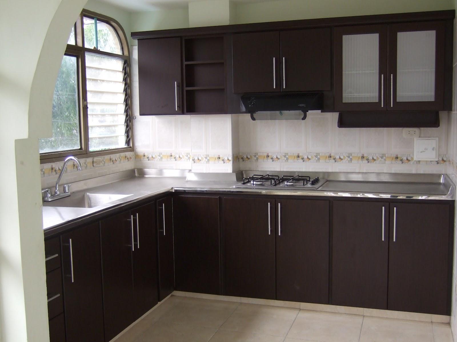 F f cocinas integrales cocinas planas deco - Muebles de cocina color wengue ...
