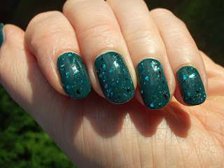 Nail Lacquer UK Turquoise Is Not Dead