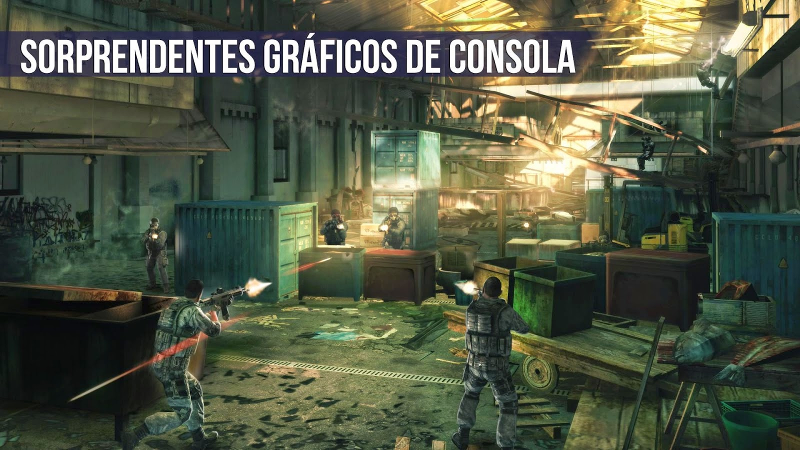 Modern Combat 5: Blackout para Android, iOS y Windows Phone, no te pierdas el mejor Shooter