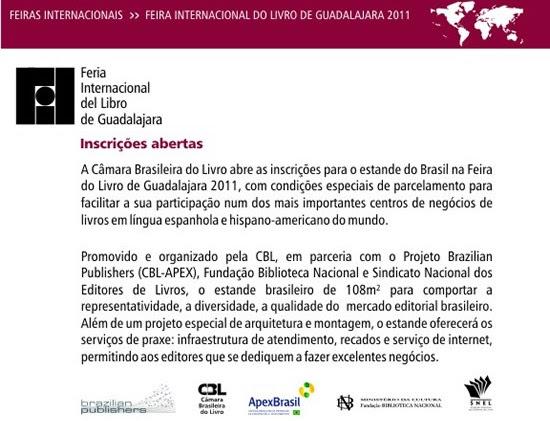 Feira Internacional do Livro de Guadalajara 2011