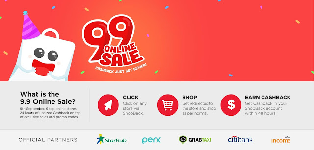 99 online sale on Shopback