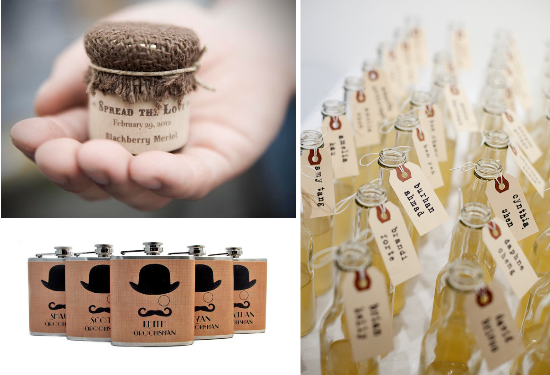 hipster wedding favors
