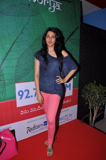 Actress Sakhi Chowdary Pictures in Tight Jeans at Green Ganesh 0011.jpg
