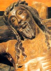 El Cristo de la sonrisa.