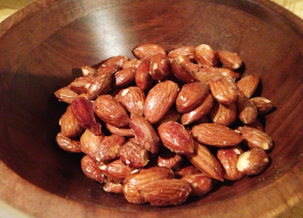 how to make candied almonds