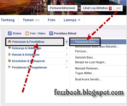 cara membuat status facebook peristuwa penting