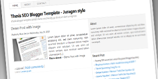 Thesis Seo Blogspot Template