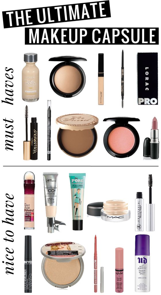The Ultimate 20 Product Makeup Capsule