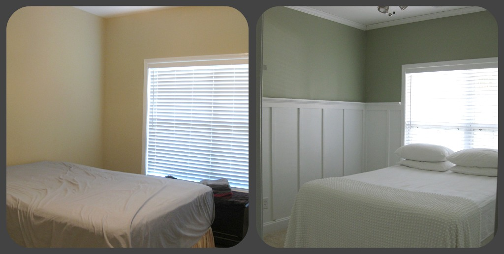 Twenty something faux board and batten with picture - Bedroom ideas for twenty somethings ...