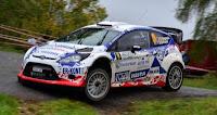 Simone Tempestini si Dorin Pulpea - Ford Fiesta WRC