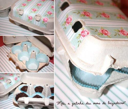 Yumurta kabında cupcake! :)