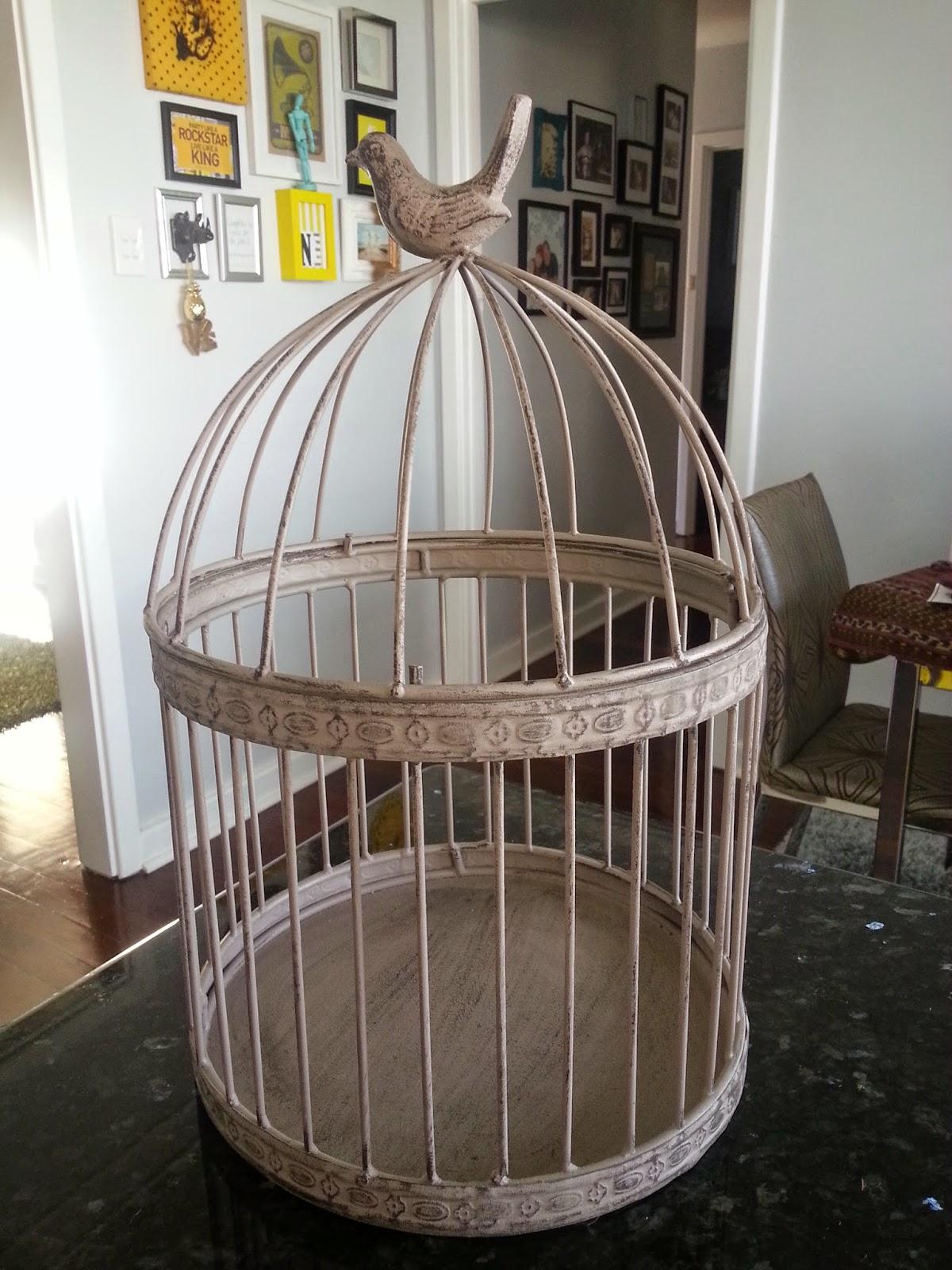 Jarrah Jungle DIY Birdcage Card Holder