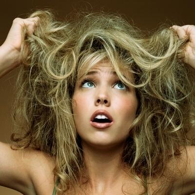 dry hair fix with hair serum