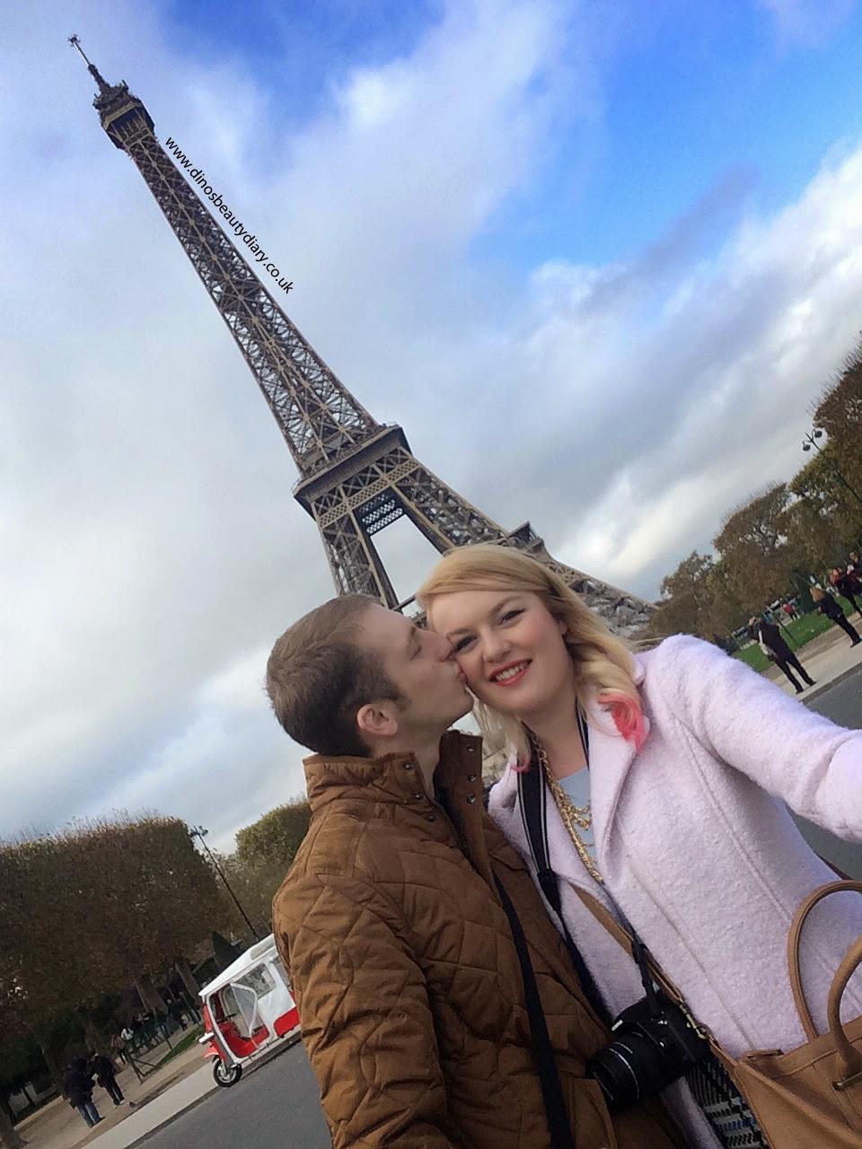 Dino's Beauty Diary - Paris Diary - Eiffel Tower, Arc de Triomphe, Champs-Élysées