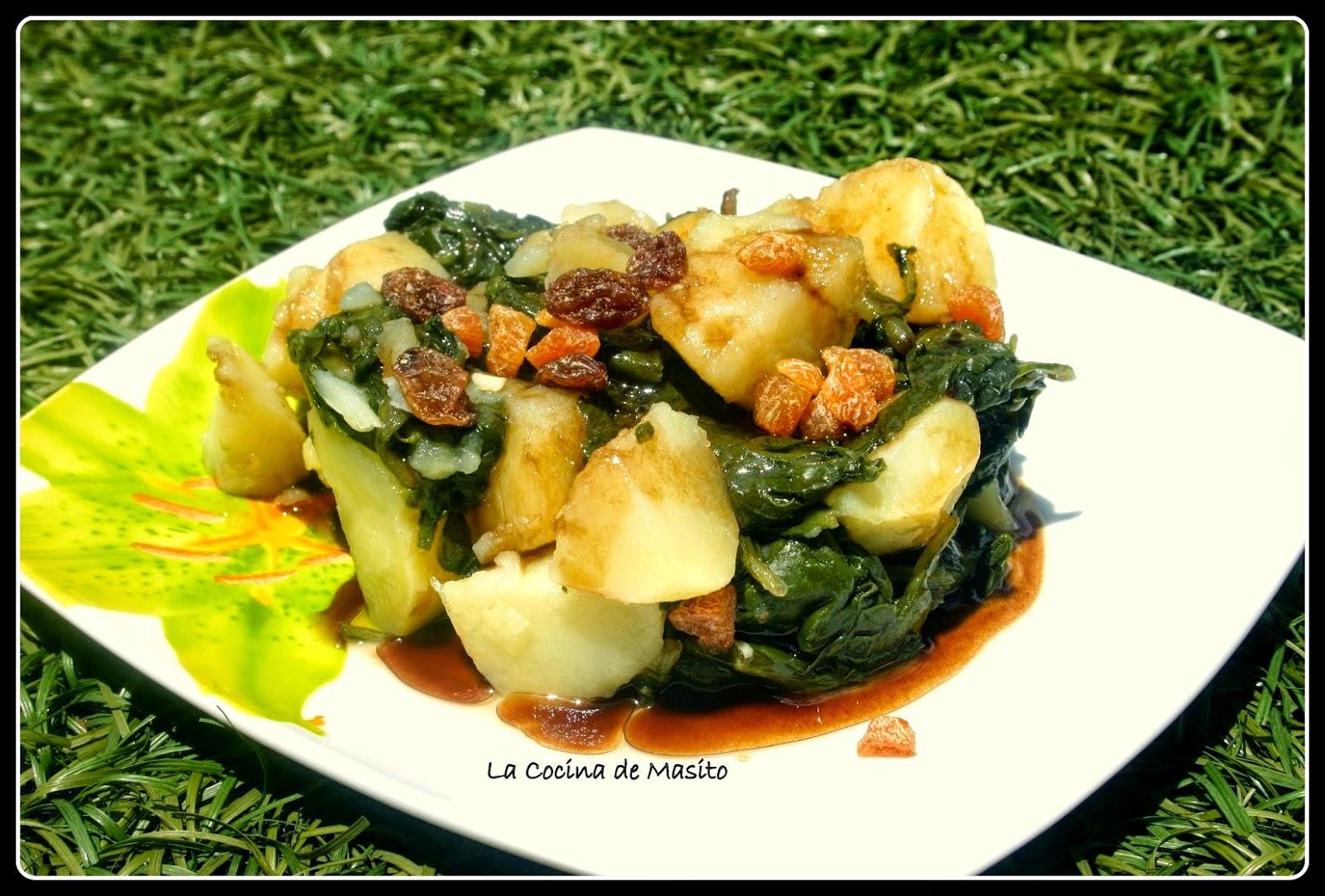 Acelgas con patatas cocinar en casa es for Cocinar acelgas