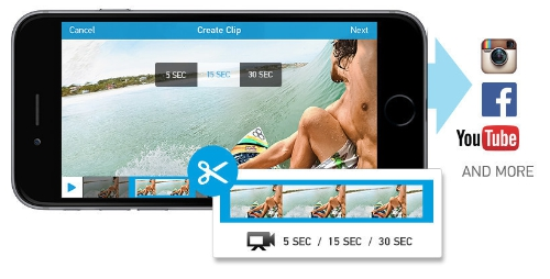 GoPro introduces new Trim + Share feature for Cameras and GoPro app