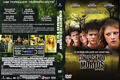 Filme Conversando Com os Mortos DVD Capa