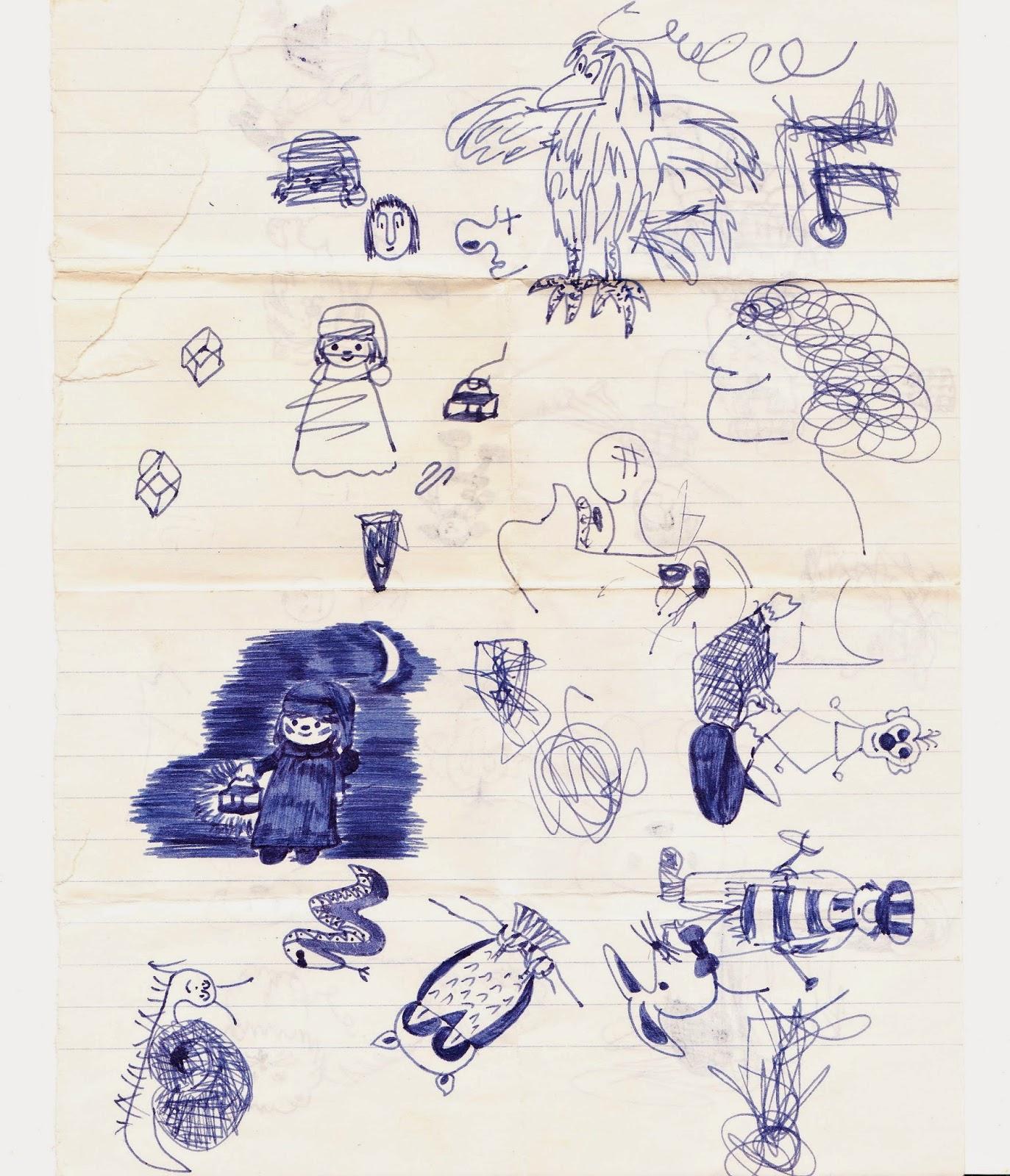 Scribble Drawing Process : Drawdrawdraw scribble draw