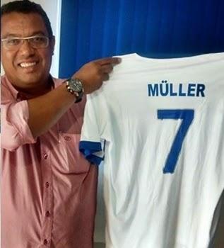 Aos 49 anos, Müller volta ao futebol para atuar na quarta divisão paulista