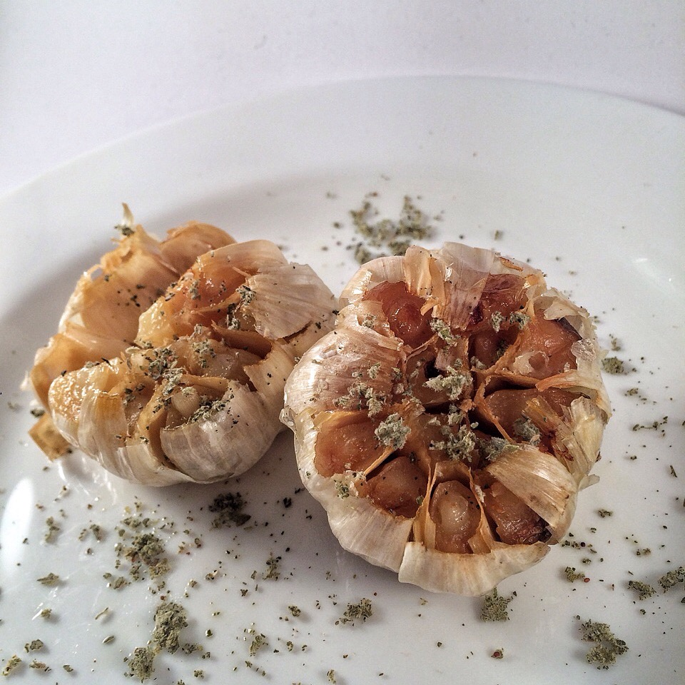 Cooking in the Desert: Roasted Garlic