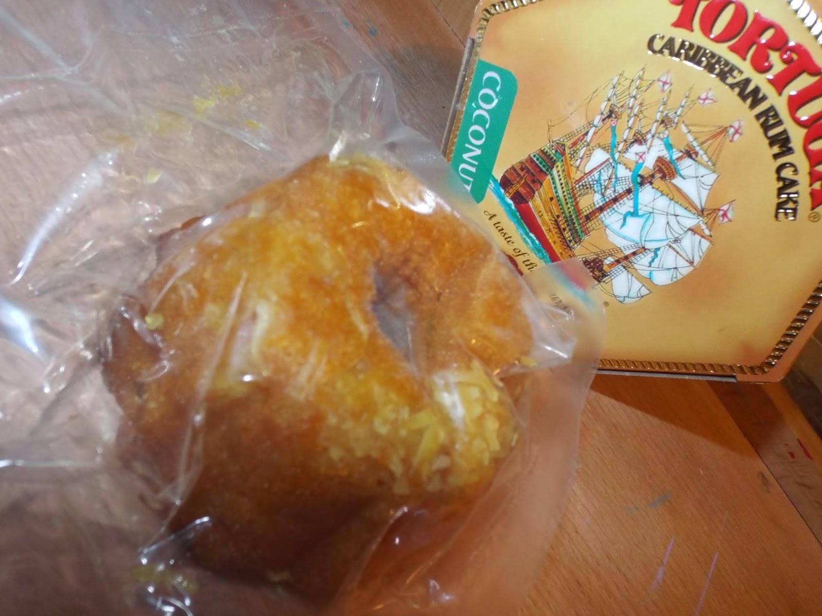 Tortuga Coconut Rum Cake