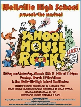 3-13/14/15 School House Rock, Wellsville, NY