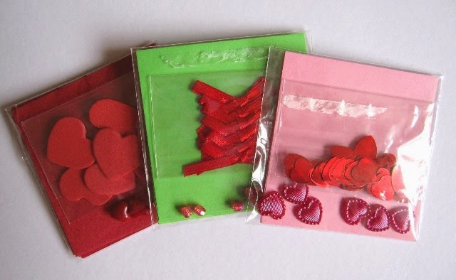 packs con material decorar scrapbooking