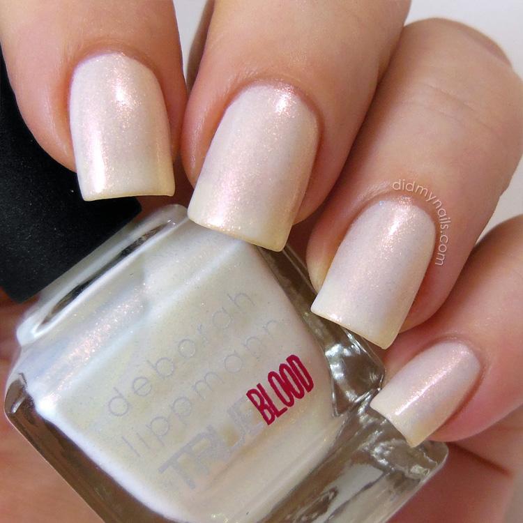 Did My Nails: Deborah Lippmann True Blood \