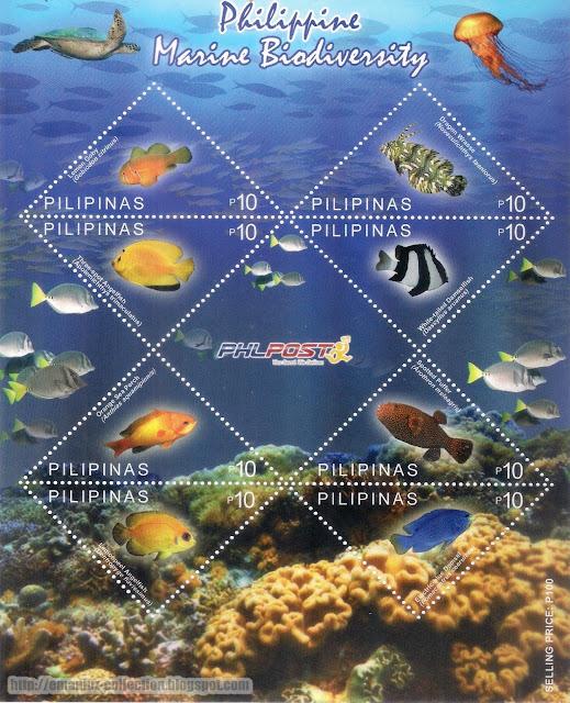 Philippine Marine Biodiversity Stamp