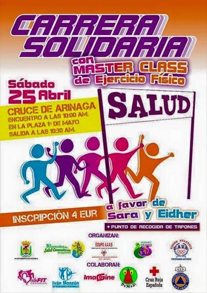 Carrera solidaria por Eidher y Sara Arinaga