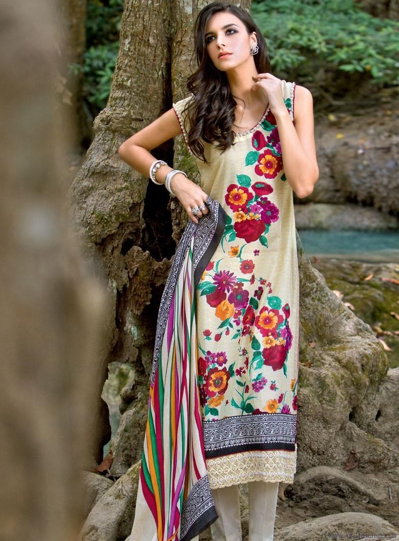 Summer beautiful dresses gul ahmad fotos