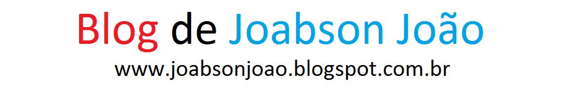Blog de Joabson João