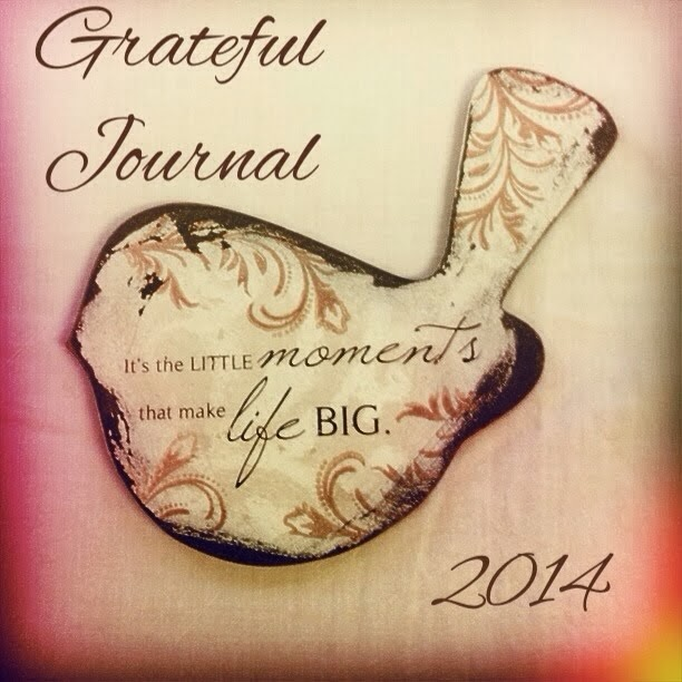 Grateful Journal 2014