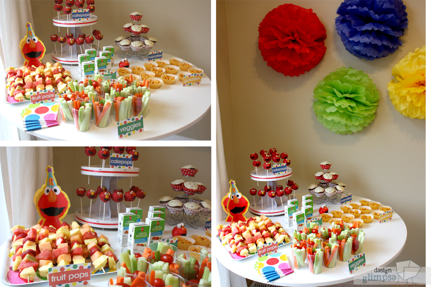 food for babies first birthday party