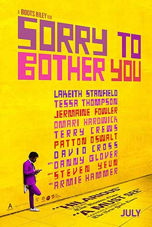 Sorry to Bother You 2018 Hollywood 300MB Movie HDRip 480p