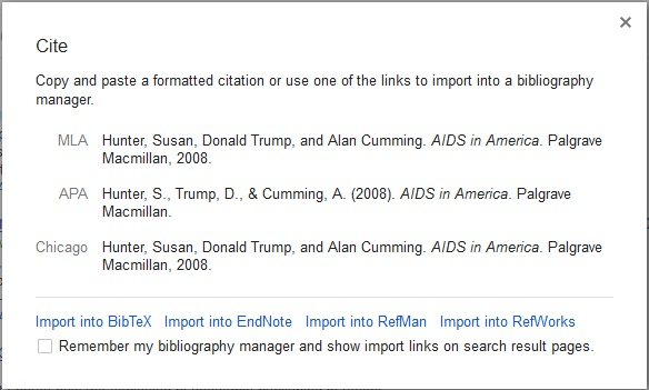 paper citation Google scholar citations lets you track citations to your publications over time.