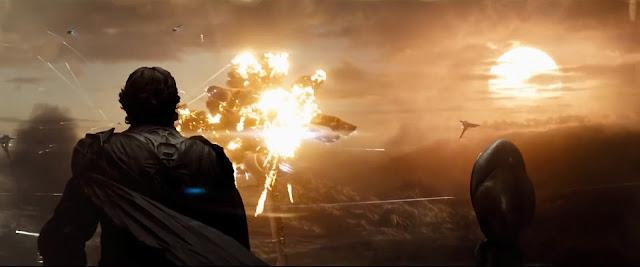 L'uomo d'acciaio - battaglia su Krypton
