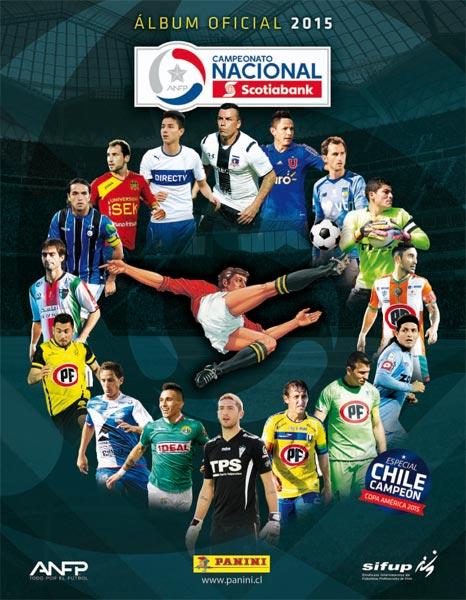 Panini Chile Album Oficial  Campeonato Nacional Scotiabank