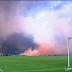 Malaysia vs Arab Saudi : Permainan Dihentikan Kerana Penyokong Ultras Malaya Baling Suar