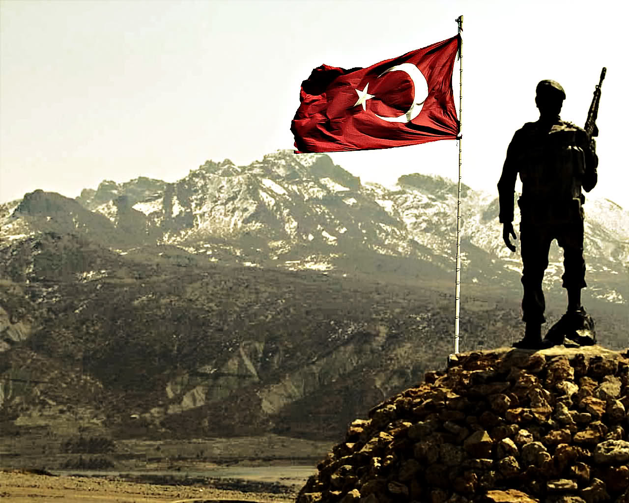 Türk asker wallpaper 1