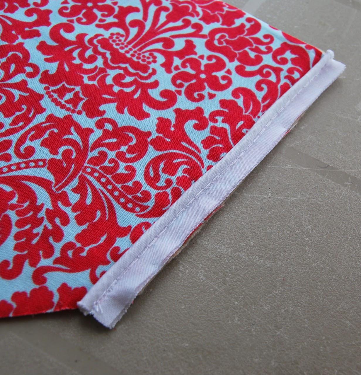 piping sewn on