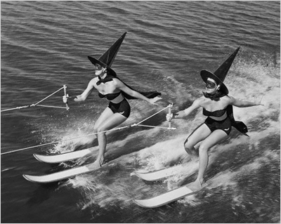 http://rogerwilkerson.tumblr.com/post/130757519916/water-skiing-witches