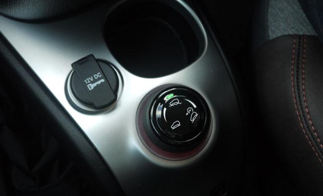 Fiat Panda Cross terrain control dial
